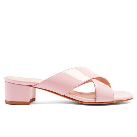 Lauren Patent-Leather Sandals