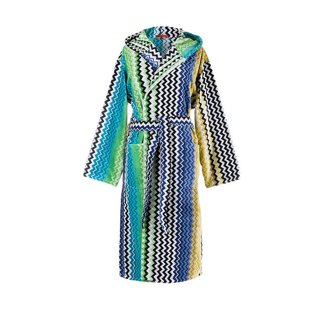 Missoni Home Stan Hooded Bathrobe