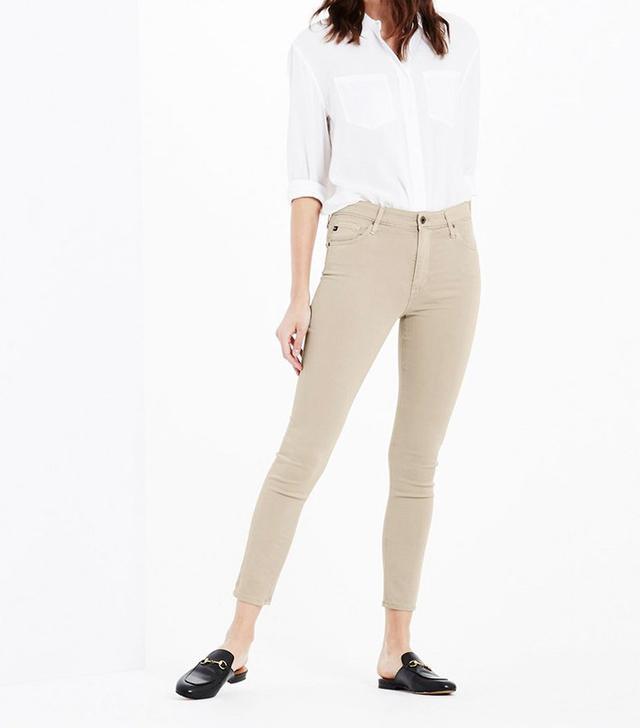 AG The Farrah Skinny Crop Pants