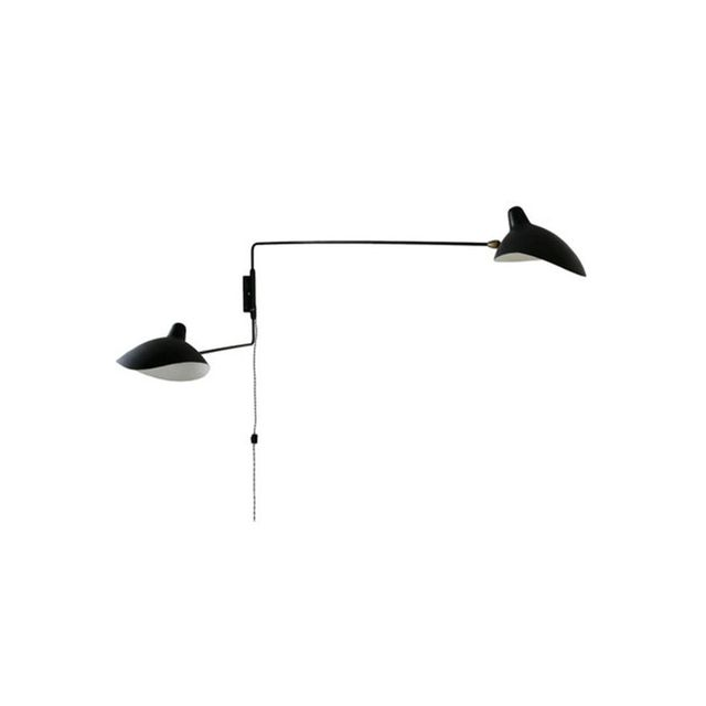 Amonson Lighting Serge Mouille Sconce 2 Arm Replica