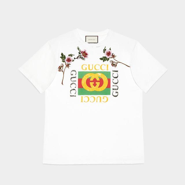 Gucci T-shirt Coco Capitan: Gucci Print Cotton T-Shirt