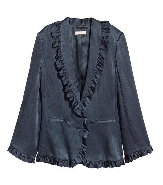 H&M Ruffled Jacket