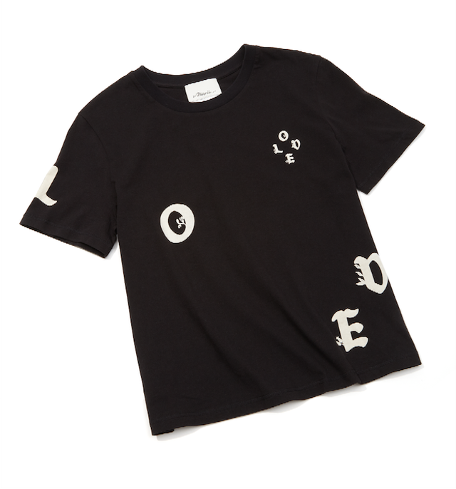3.1 Phillip Lim Love Cotton Logo Tee