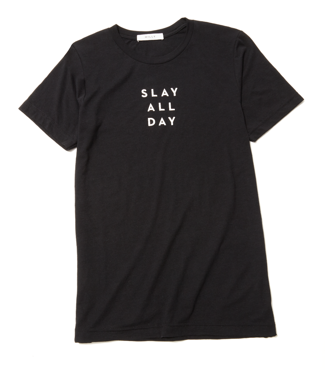 Milly Slay All Day Graphic Tee