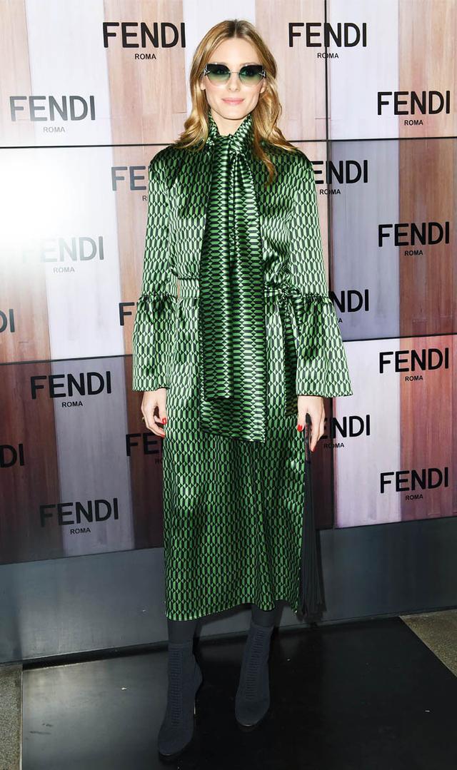 Milan fashion week front row: