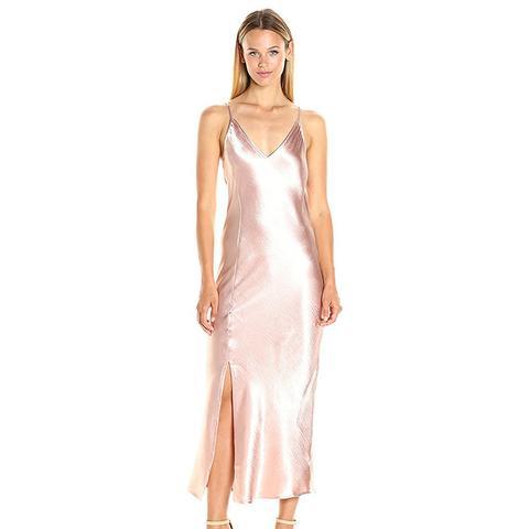 Women's Midi Slip Dress