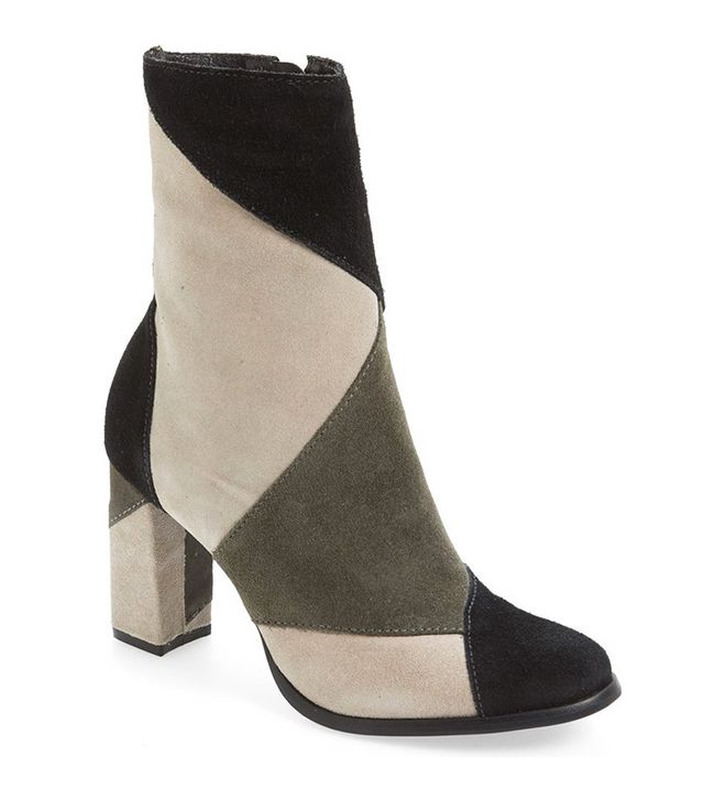 Matisse Jigsaw Block Heel Booties
