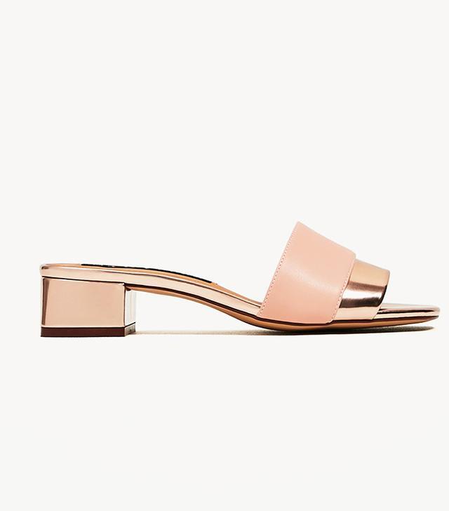 Zara Block Heel Sandals