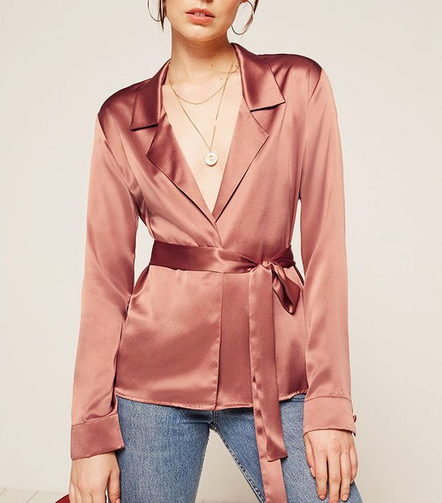 Reformation Hillary Top