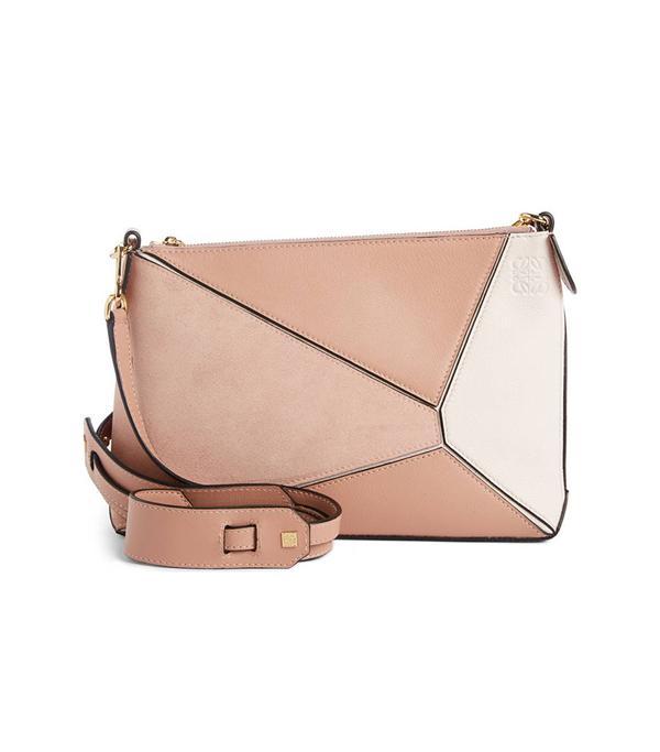 Loewe Mini Puzzle Leather Crossbody Bag -