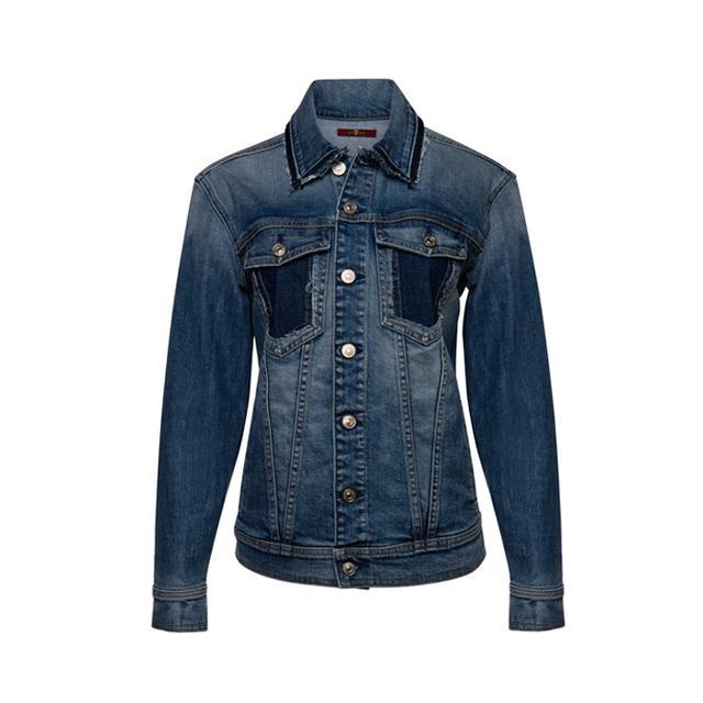 7 for All Mankind Oversized Boyfriend Jacket