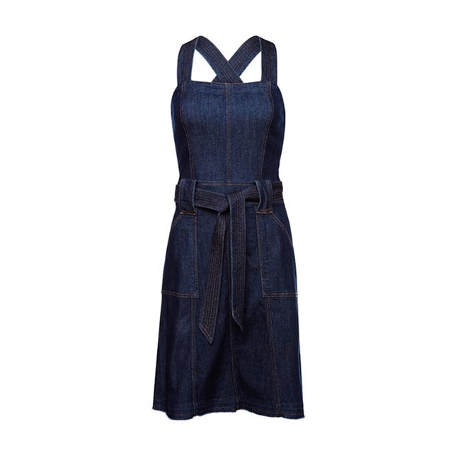 7 for All Mankind Belted A Line Dress