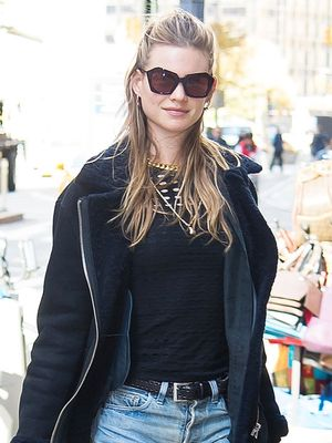 Behati Prinsloo Looks Amazing at Her First Fashion Show in Over a Year