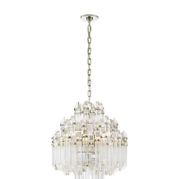 Suzanne Kasler Adele Four Tier Waterfall Chandelier