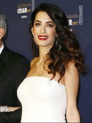 Mom-to-Be Amal Clooney's Red Carpet Style Hasn't Changed at All
