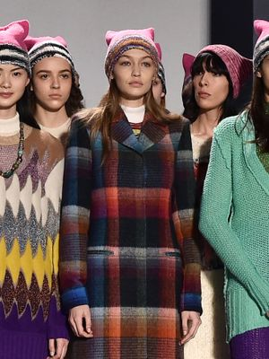 How Missoni Brought the Women's March to Milan Fashion Week