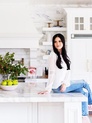 See the Bright Custom-Designed Kitchen of a Fashion Blogger