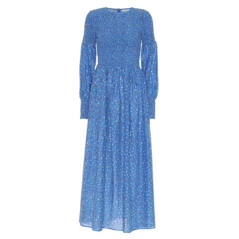 Beacon Cotton And Silk Dress