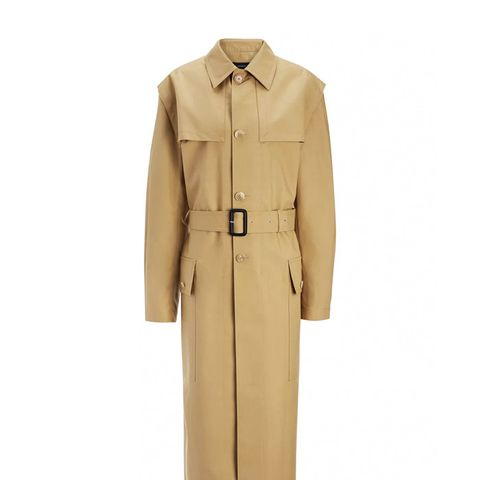 Bonded Cotton Marquee Coat