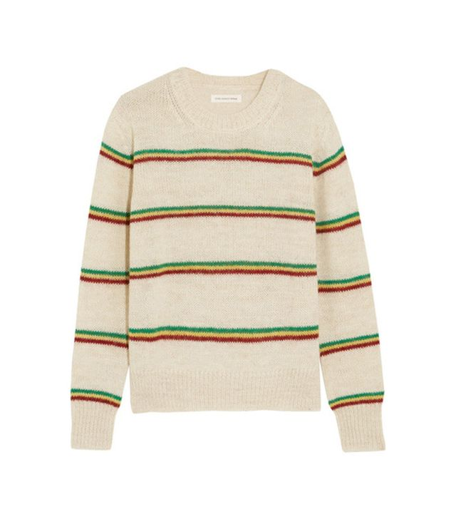 Étoile Isabel Marant Goya Striped Alpaca-Blend Sweater