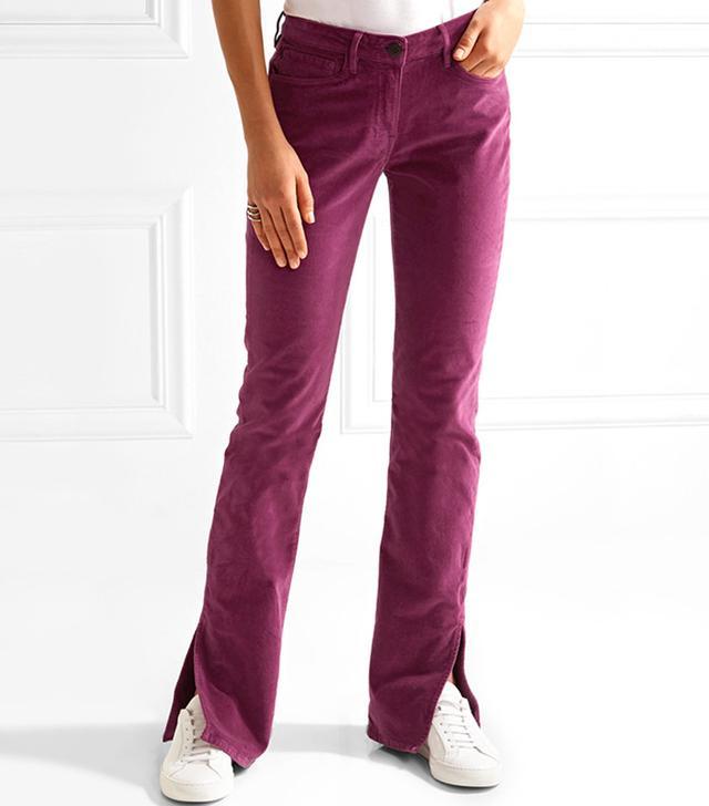 3x1 Velvet Bootcut Pants