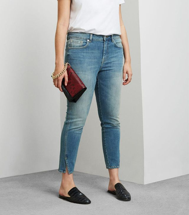 Violeta by Mango Super Slim-Fit Cruseau Jeans