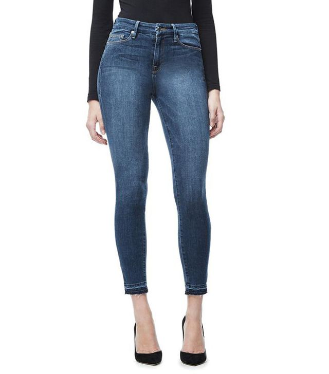 Good American Good Legs Cropped Jeans (up to size 24)