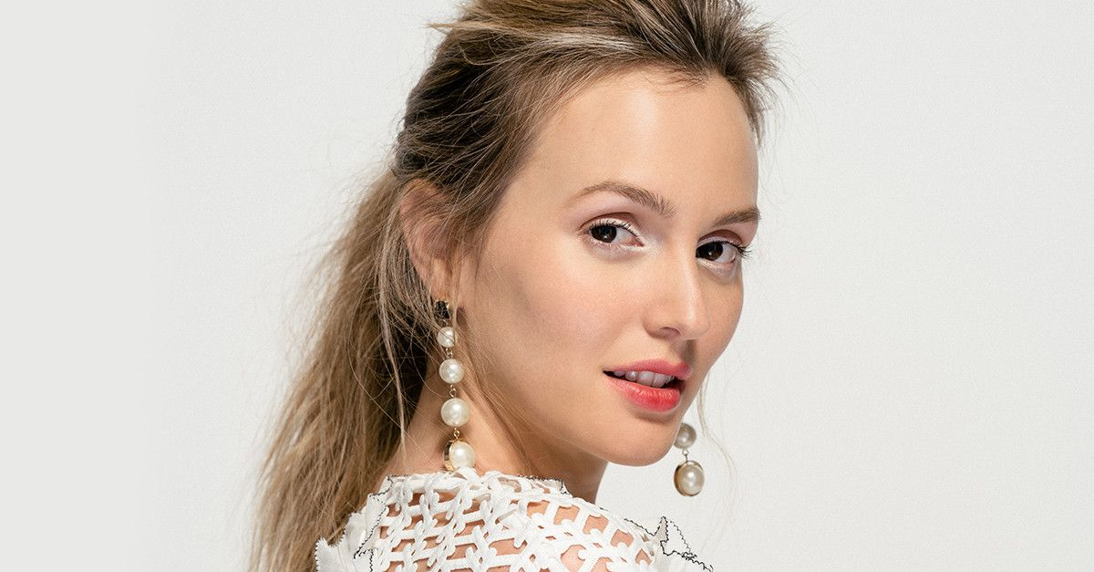 Leighton Meester On Feminism And Her Anti Gwyneth Beauty Routine
