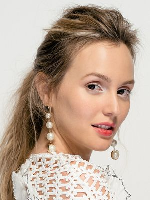 "Leighton Meester on Feminism and Her ""Anti-Gwyneth"" Beauty Routine"