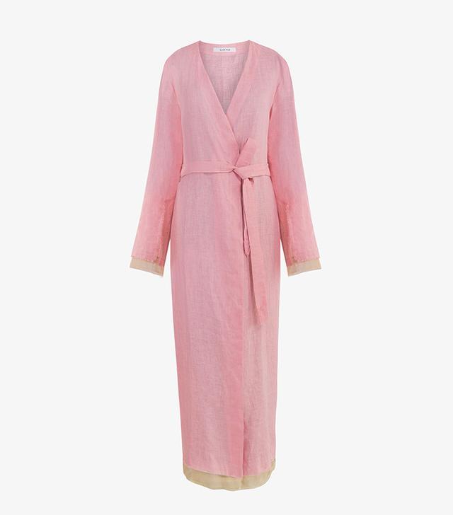 Sleeper Judas Tree Linen Robe