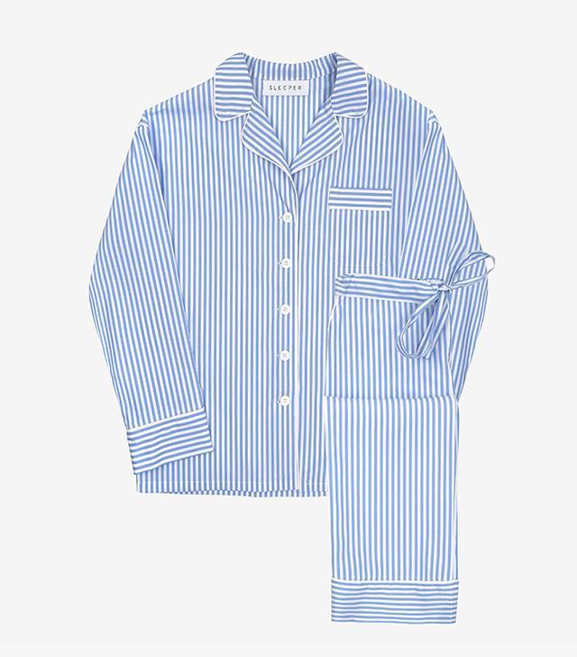 Sleeper French Stripes Pajama Set with Pants