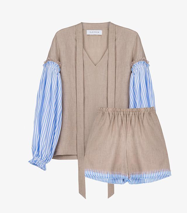 Sleeper Pamukkale Linen Suit