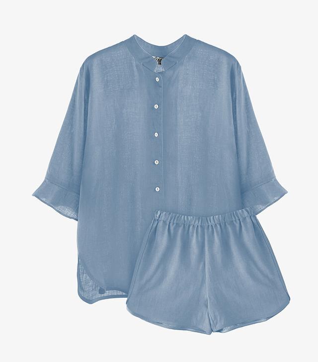 Sleeper Moonstone Blue Loungewear Suit