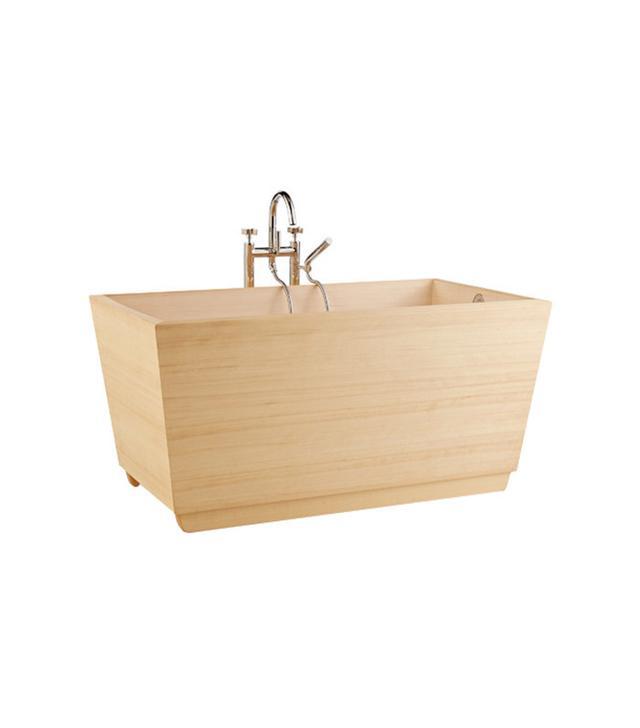 Zen Bathworks Kyoto Ofuro Hinoki Wood Soaking Tub