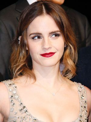 Emma Watson's Naked Dress Had the Chicest Twist