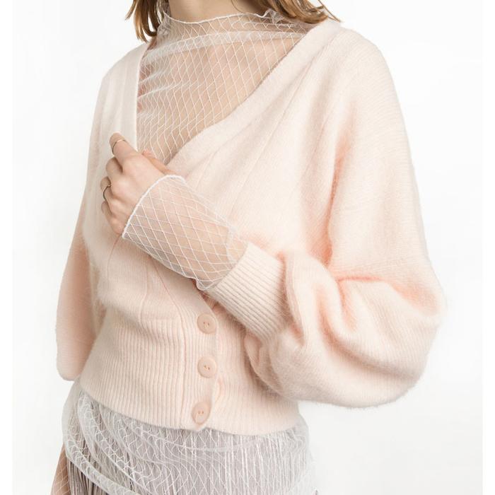 Pixie Market White Lace Top