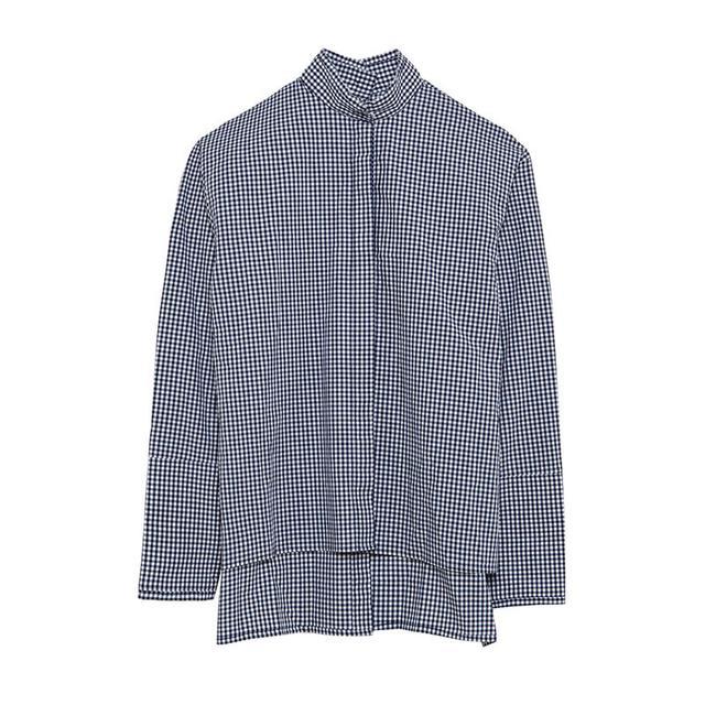 Dion Lee Quarter Frayed Shirt