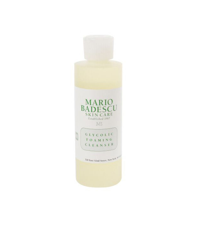 Best cleanser for acne prone skin: Mario Badescu Glycolic Foaming Cleanser