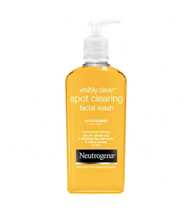 Best cleanser for oily skin: Neutrogena Visibly Clear Spot Clearing Facial Wash
