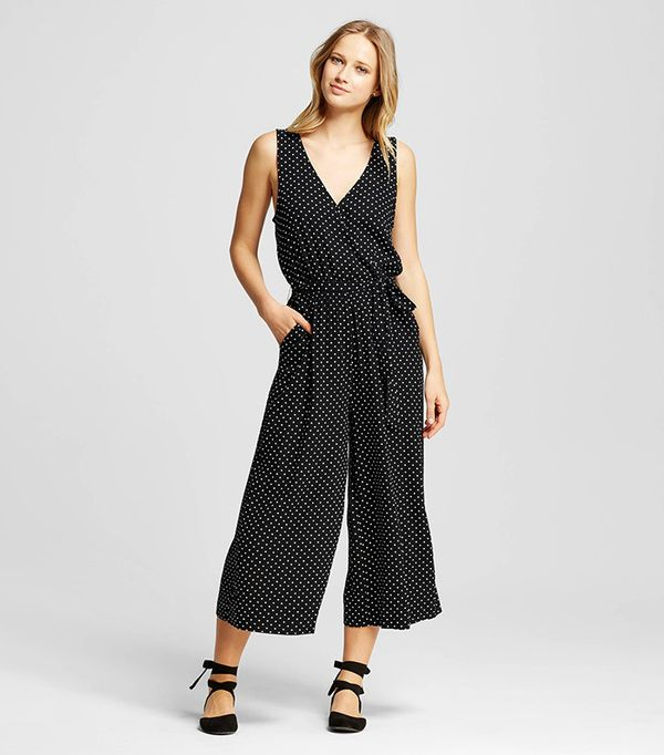 Who What Wear Wrap Tie Jumpsuit