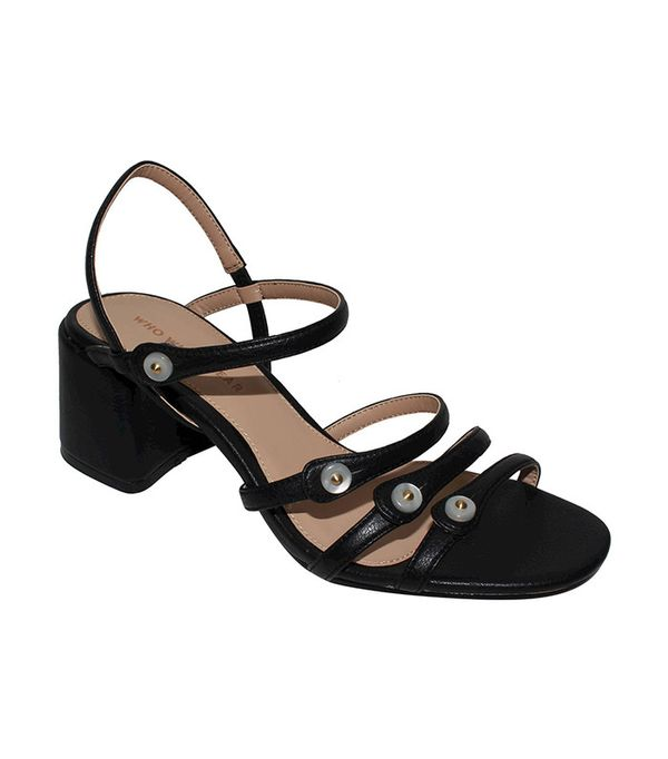 Who What Wear Charlotte Strapy Quarter Strap Sandals