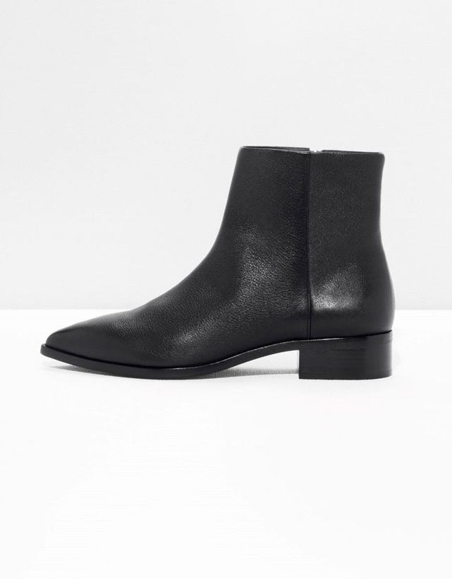 & Other Stories Pointy Leather Boots