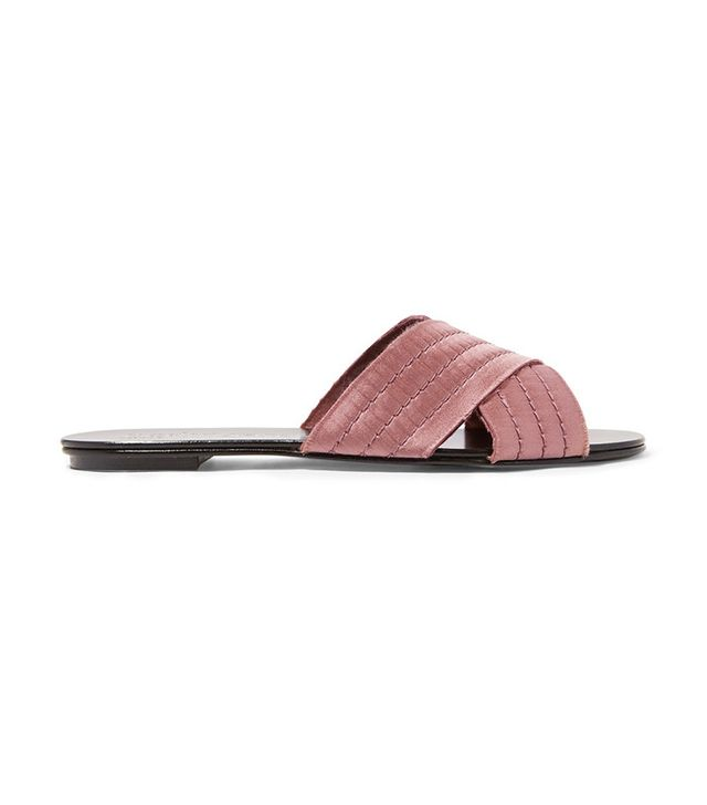 Pedro Garcia Elisa satin sandals