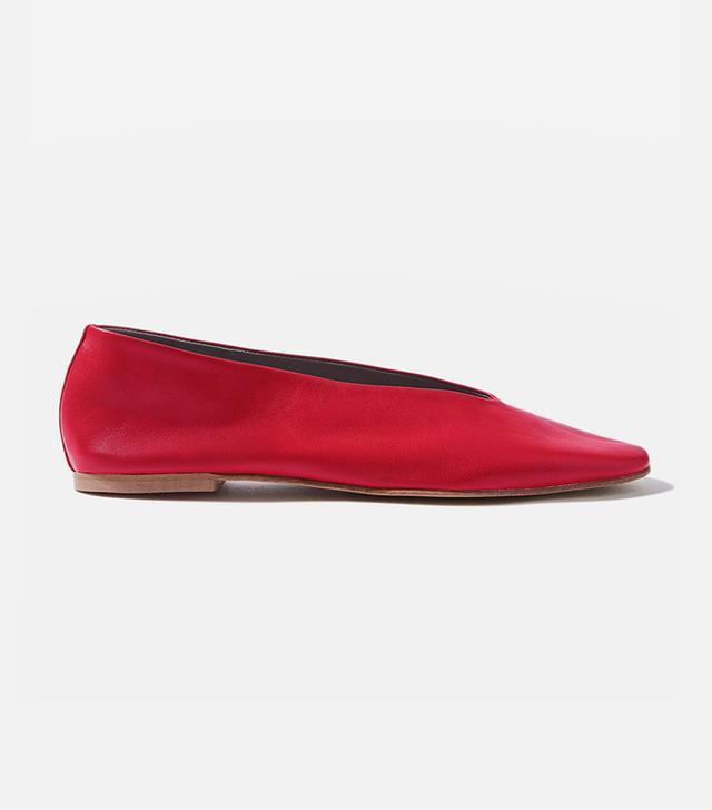 Topshop Kick Softy Ballet Shoes