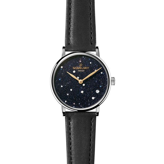 Gomelsky by Shinola Sandstone Leather Strap Watch