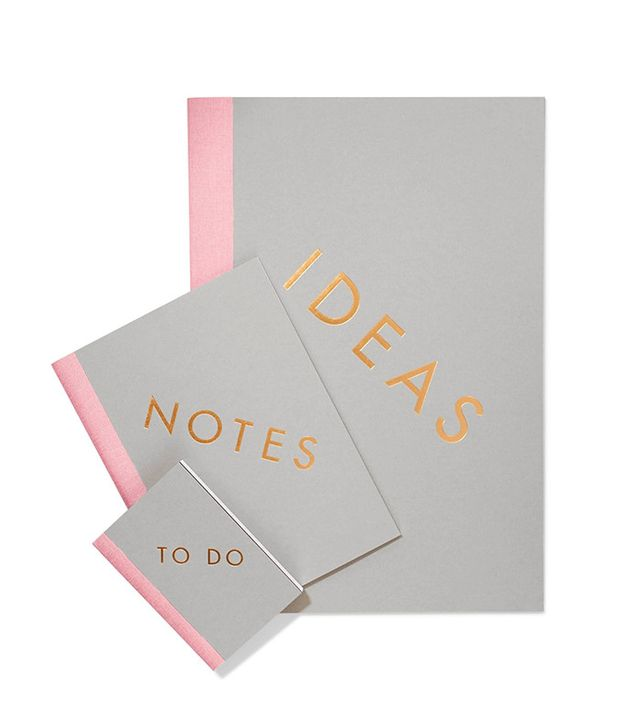 Studiosarah Set of Three Notebooks