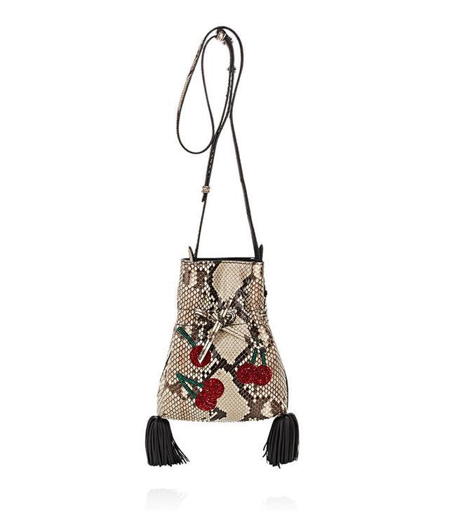 Altuzarra Ghianda Python Bucket Bag