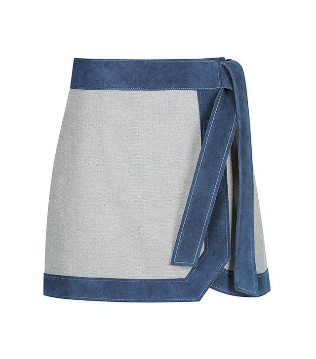 Primari Sunday Skirt in Denim