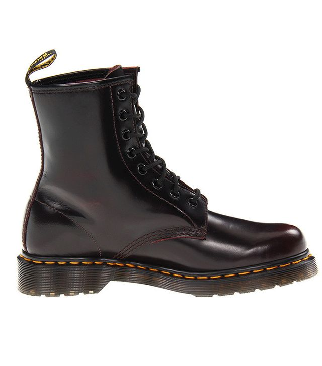 Dr. Martens 1460 W Boots in Cherry Red Arcadia