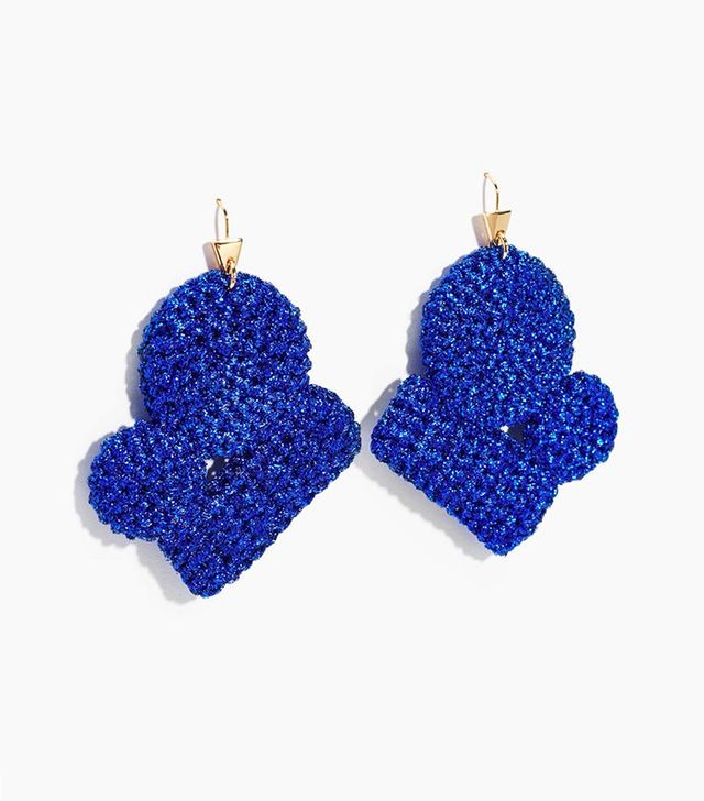 Lucy Folk Crochet Cluster Earrings I